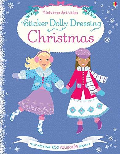 9781409595298: Sticker Dolly Dressing Christmas
