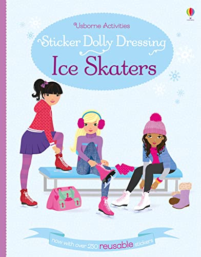 9781409595311: Sticker Dolly Dressing Ice Skaters