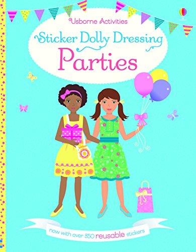 Sticker Dolly Dressing Parties: Fiona Watt