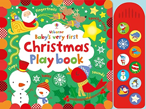 9781409595397: Baby's Very First Touchy-Feely Christmas Play Book (Baby's Very First Books)