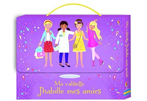 9781409595670: Ma valisette J'habille mes amies : 4 livres d'autocollants