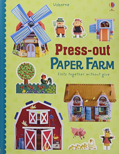 9781409596448: Press-Out Paper Farm (Press-outs)