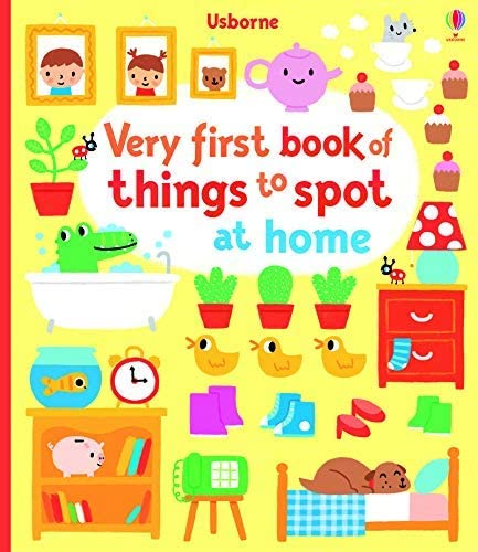 9781409596455: Very First Book of Things to Spot: at Home