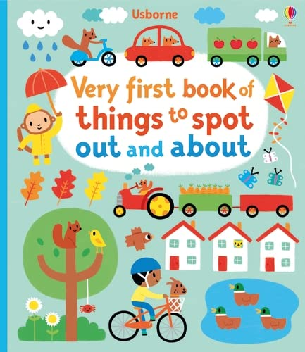 9781409596462: Very first book of things to spot : out and about