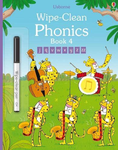 9781409596882: Wipe-Clean Phonics Book 4 (Wipe-clean Books)