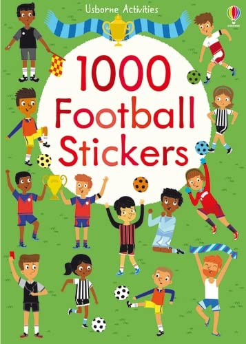 1000 Football Stickers (1000 Stickers): Bowman, Lucy