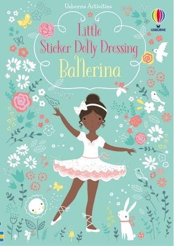 9781409597155: Little Sticker Dolly Dressing Ballerina