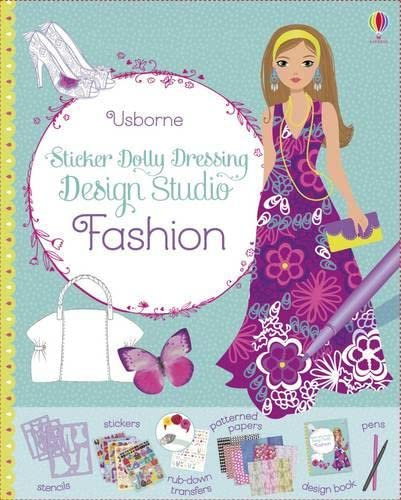 9781409597247: Sticker Dolly Dressing Design Studio Fashion