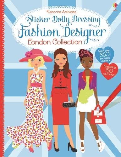 9781409597315: Sticker Dolly Dressing Fashion Designer London Collection