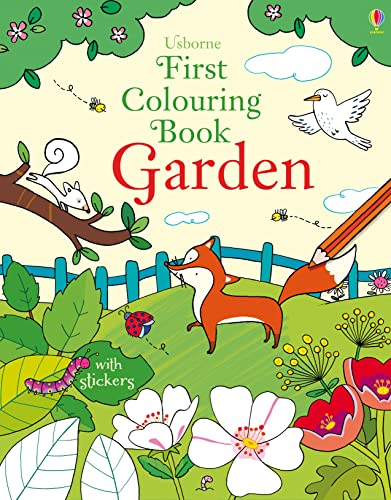 9781409597391: First Colouring Book Garden (First Colouring Books)