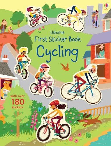 9781409597438: First Sticker Book Cycling (First Sticker Books)
