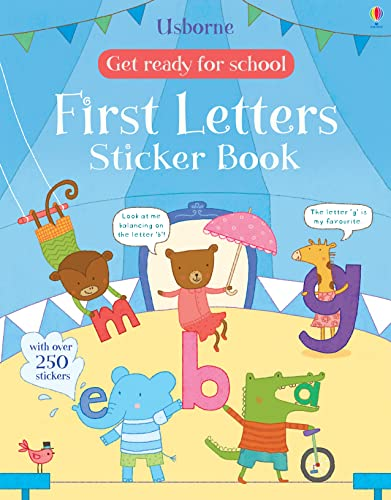 Get Ready for School First Letters Sticker Book (Get Ready for School Sticker Books): Jessica ...