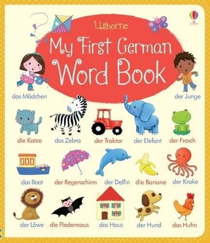 9781409597629: My first german word book
