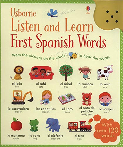 9781409597735: Taplin, S: Listen and Learn First Words in Spanish