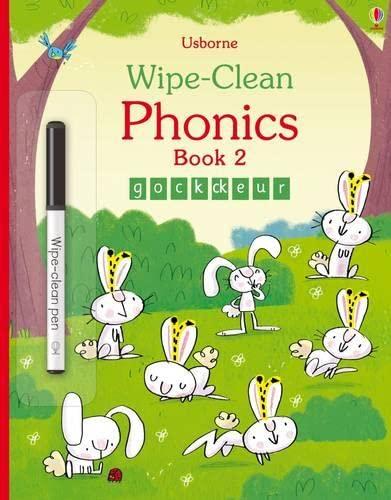9781409597766: Wipe-Clean Phonics Book 2 (Wipe-clean Books)