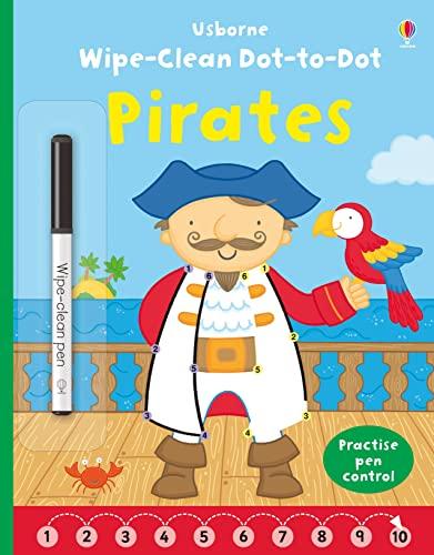 9781409597797: Wipe Clean Dot-to-Dot Pirates