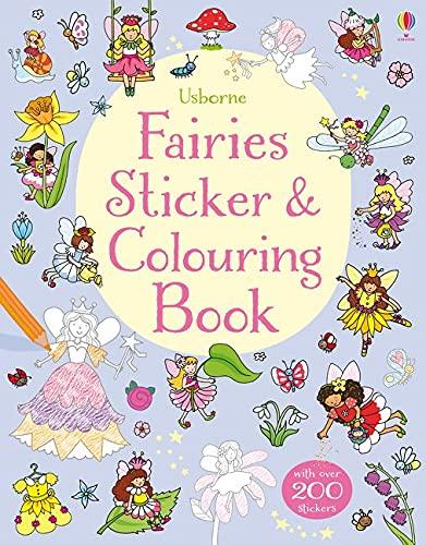 9781409597957: Fairies Sticker & Colouring Book (First Colouring Books)