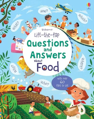 9781409598978: Lift-the-Flap Questions and Answers About Food (Lift-the-Flap Questions & Answers)