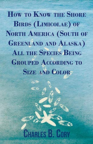 9781409716044: How to Know the Shore Birds (Limicolae) of North America (South of Greenland and Alaska) All the Species Being Grouped According to Size and Color
