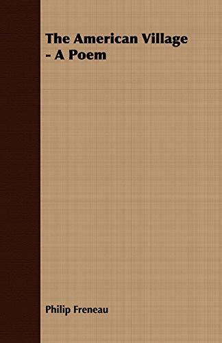 9781409779469: The American Village - A Poem