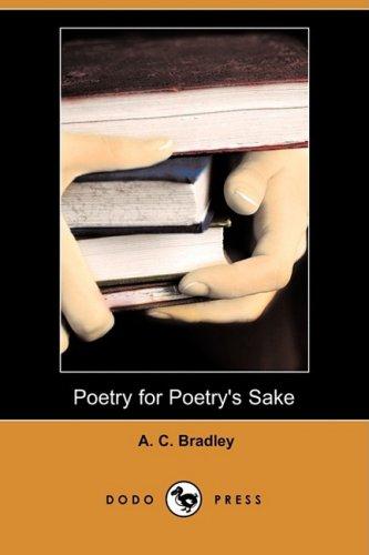 9781409904632: Poetry for Poetry's Sake (Dodo Press)