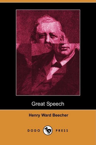 Great Speech, Delivered in New York City on the Conflict of Northern and Southern Theories of Man ...