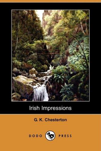 9781409931218: Irish Impressions (Dodo Press)