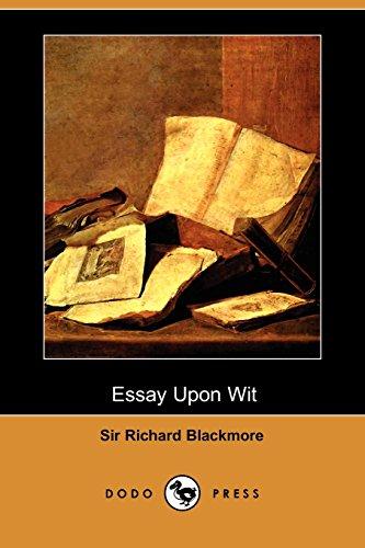 9781409945888: Essay Upon Wit (Dodo Press)