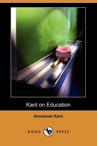 9781409951612: Kant on Education (Dodo Press)