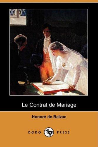 9781409954194: Le Contrat De Mariage