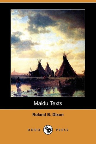 9781409968184: Maidu Texts (Dodo Press)