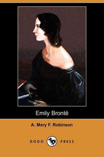 9781409974536: Emily Bronte (Dodo Press)