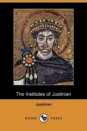 9781409978466: The Institutes of Justinian