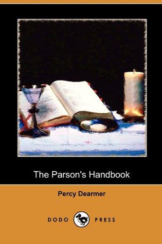 9781409993681: The Parson's Handbook (Dodo Press)