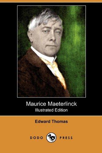 9781409993735: Maurice Maeterlinck (Illustrated Edition) (Dodo Press)