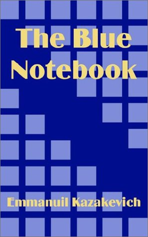 9781410101013: Blue Notebook, The