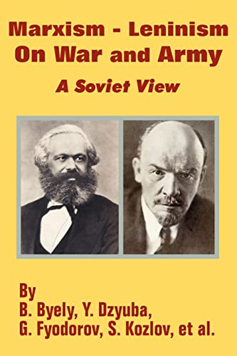 9781410202475: Marxism - Leninism On War and Army: A Soviet View