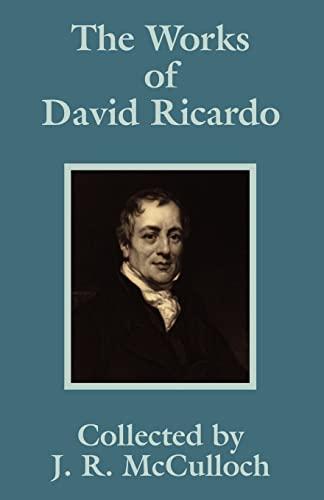 9781410202963: Works of David Ricardo, The