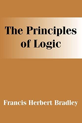 9781410204462: Principles of Logic, The