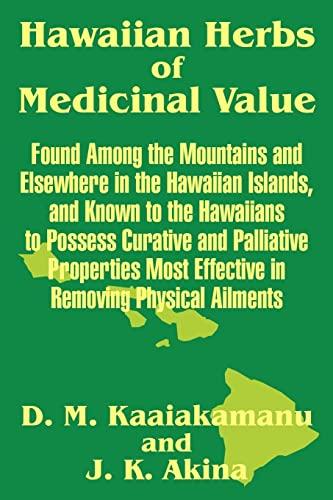 9781410205636: Hawaiian Herbs of Medicinal Value