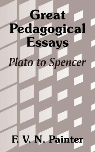 great pedagogical essays plato to spencer  9781410206695 great pedagogical essays plato to spencer