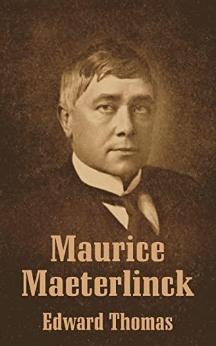 9781410207678: Maurice Maeterlinck