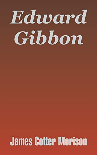 9781410208514: Edward Gibbon