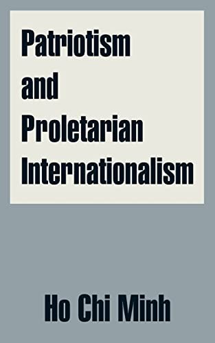 9781410208620: Patriotism and Proletarian Internationalism