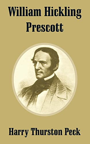 9781410209382: William Hickling Prescott