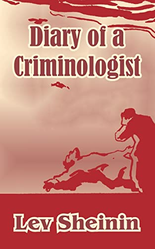 9781410210395: Diary of a Criminologist