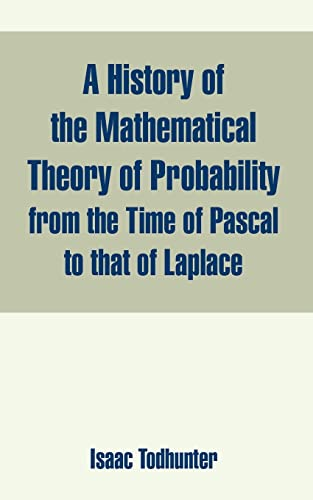History of the Mathematical Theory of Probability: Isaac Todhunter