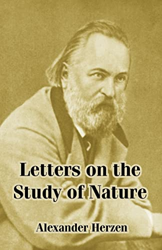 9781410214140: Letters on the Study of Nature