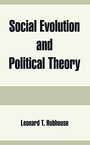 9781410215819: Social Evolution and Political Theory