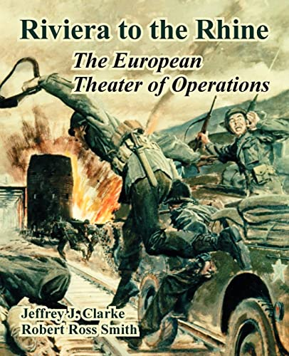 9781410221322: Riviera to the Rhine: The European Theater of Operations